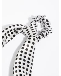 Free People - Multicolor Printed Scarf Pony - Lyst