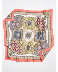 Free People - Multicolor Moroccan Tile Print Bandana By Pretty Persuasions - Lyst