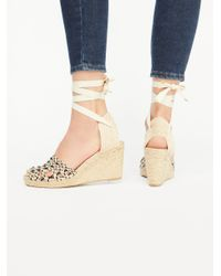 Free People - Natural Amalfi Coast Wedge - Lyst