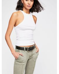 Free People - Multicolor Blank Nyc Zip Utility Jeans - Lyst