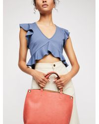 Free People - Blue Reversible Vegan Crossbody - Lyst
