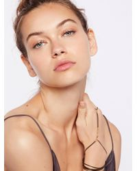 Free People | Multicolor Slinky Chain Hand Wrap | Lyst