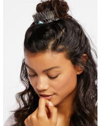 Free People | Metallic Leaf Bun Cuff | Lyst