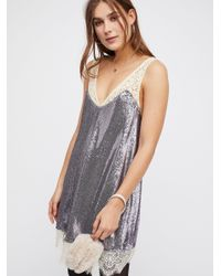 Free People - Purple Champagne Mini - Lyst