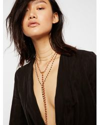 Free People - Multicolor Rachel Delicate Rosary - Lyst