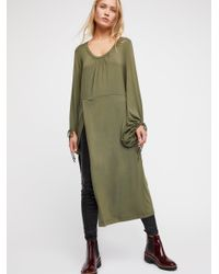 Free People - Green Constellation Tunic - Lyst