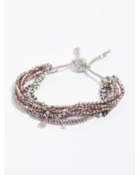 Free People - Metallic Serefina 7 In 1 Bracelet - Lyst