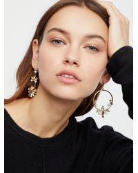 Free People - Blue Crush Opal Mixed Earrings - Lyst