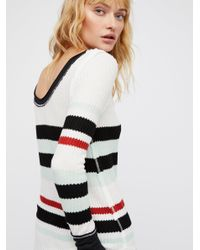 Free People - White We The Free Striped All For One - Lyst