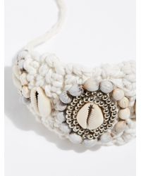 Free People - White High Seas Ankle Cuff - Lyst