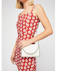 Free People - White Hyde Studded Crossbody - Lyst