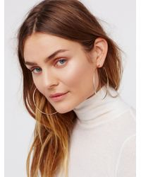 Free People | Multicolor Cherry Bomb Ombre Hoops | Lyst
