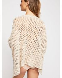 Free People - White Fp One Tape Yarn Sweater - Lyst