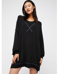 Free People - Black We The Free So Smooth Tee - Lyst