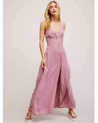 Free People | Pink All About It Maxi | Lyst