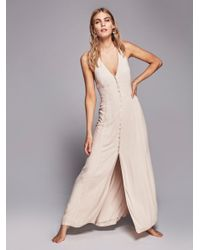 Free People | Natural All About It Maxi | Lyst