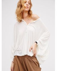 Free People | White Awesome Top | Lyst