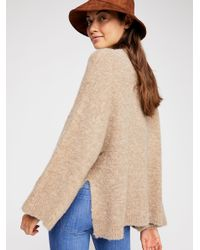 Free People - Natural Cosy Thoughts Pullover - Lyst