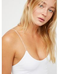 Free People - White 2 In 1 Seamless Cami By Intimately - Lyst