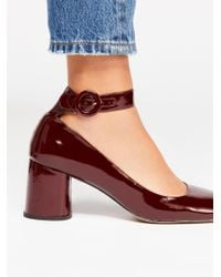 Free People - Multicolor Lizzy Block Heel - Lyst