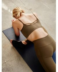 Free People - Green Barely There Bra Barely There Leggings - Lyst