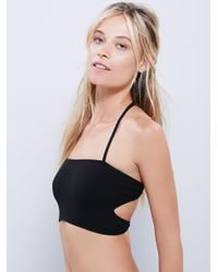 Free People | Black Barely There Brami | Lyst