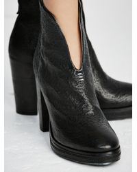Free People - Black Bolo Bandit Ankle Boot - Lyst