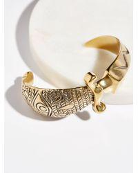 Free People - Metallic Brass Dagger Cuff - Lyst