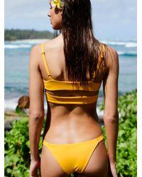 Free People - Multicolor Juliet Bikini Top - Lyst