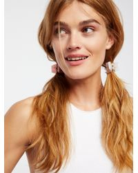 Free People - Pink Essential Claw Duo - Lyst