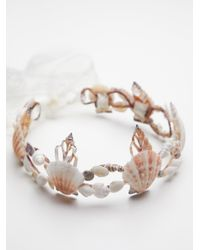 Free People | White Calypso Mermaid Crown | Lyst