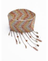 Free People | Multicolor Cascades Stretch Upper Armband | Lyst