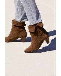 ca5079d774ae Lyst - Free People Adella Heel Boot in Brown
