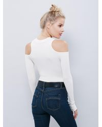 Free People - White Prima Ballerina Top - Lyst