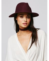 Free People   Multicolor Clean Slate Felt Hat   Lyst