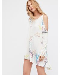 Free People | Multicolor Clear Skies Printed Tunic | Lyst