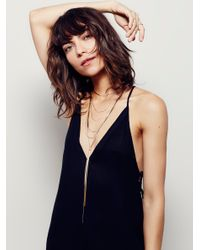 Free People - Multicolor Cosmic Rays Layered Necklace - Lyst
