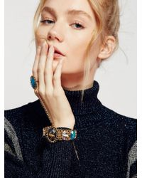 Free People | Blue Cosmic Stone Hand Piece | Lyst