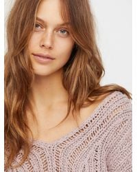 Free People - Multicolor Infinite V-neck Sweater - Lyst