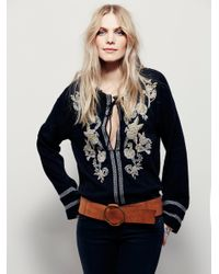 Free People | Black Dancin In September Peasa | Lyst
