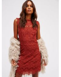 Free People | Multicolor Daydream Bodycon Slip | Lyst