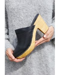 Free People - Black Highland Park Clog By Fp Collection - Lyst