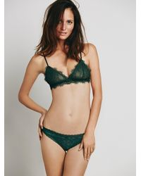 Free People - Green Dreams Come True Thong - Lyst