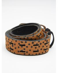 Free People - Brown Drive Me Crazy Belt - Lyst