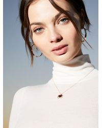 Free People - Multicolor Orbit Coin Pendant - Lyst