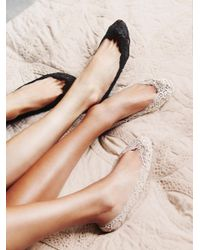 Free People - Black Lovely In Lace Liner - Lyst