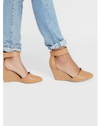 Free People - Brown Peaks Point Wedge - Lyst