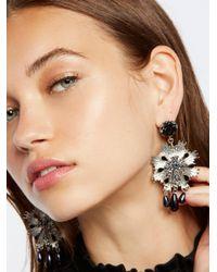 Free People - Metallic Victorian Nights Earrings - Lyst