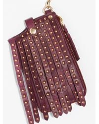 Free People - Multicolor Studded Iphone Wallet - Lyst