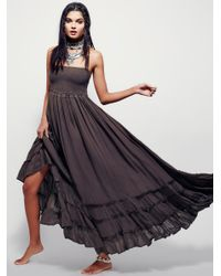 Free People | Gray Extratropical Dress | Lyst